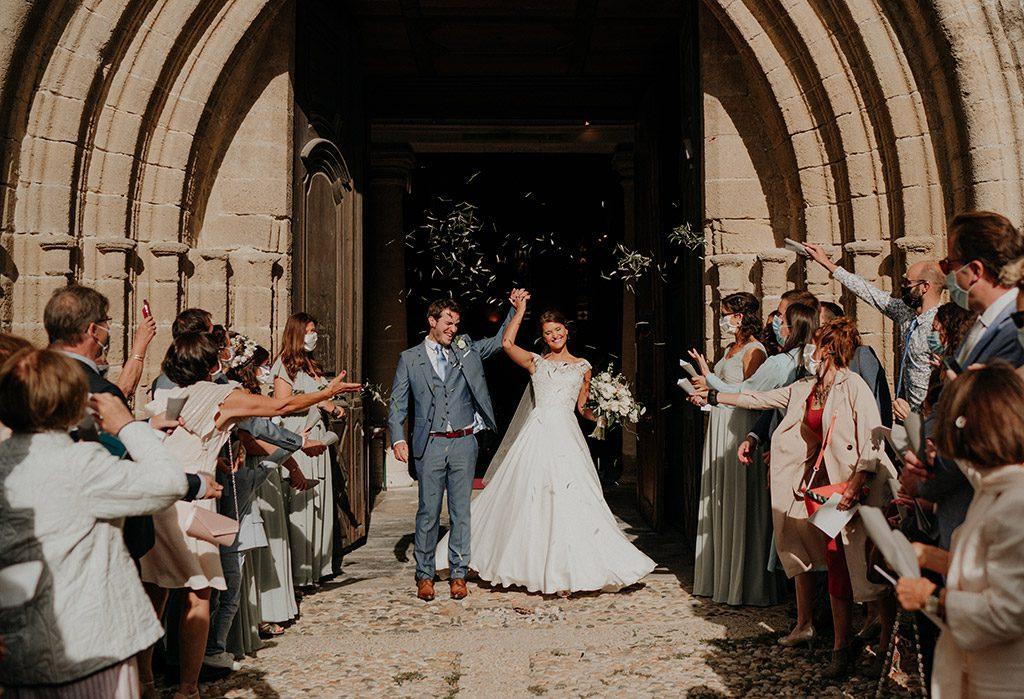 préparatifs mariage église
